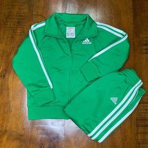 Kid's Adidas Sweat Suit Set - Size 24M